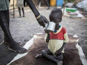 south sudan child famine