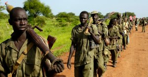south sudan guns boys